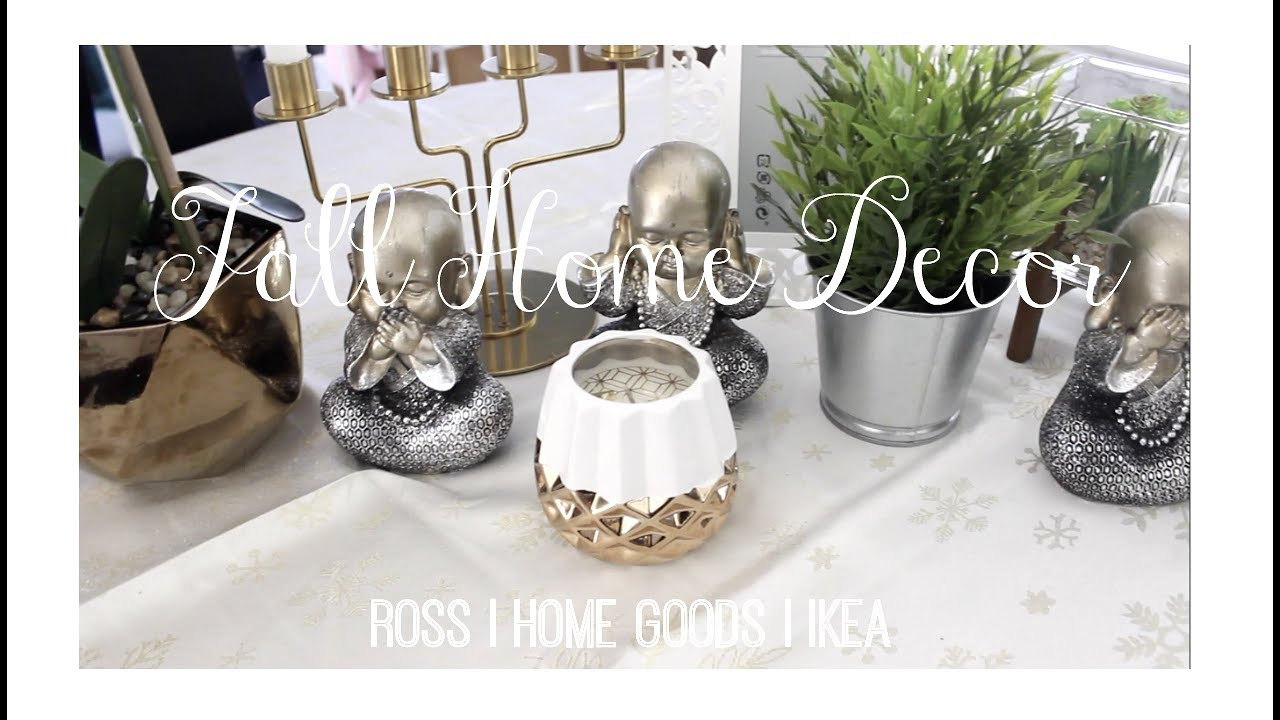 Home Decor Haul 2017   ROSS, HOME GOODS, IKEA   Nicole Sanchez