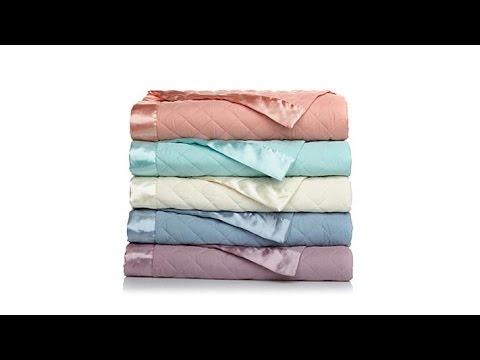 Concierge Lightweight Down Alt Blanket w/Satin Trim  T