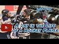 A Day in the Life of a College Hockey Player: In Season