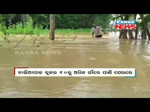Rivers Cross Red Mark, Flood In 4 Districts of Odisha