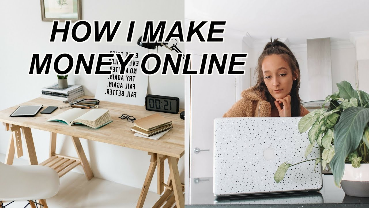 HOW I MAKE MONEY ONLINE AS A STUDENT