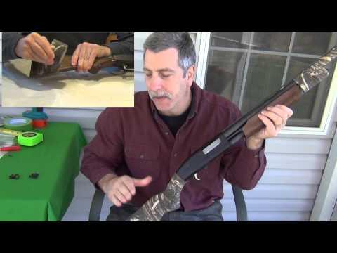 Installation of shotgun swivels and sling