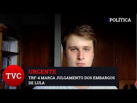 URGENTE: TRF4 VAI JULGAR RECURSOS DE LULA NESSA SEGUNDA