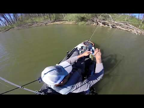 Amazing Day Kayak Bass Fishing At A Local Lake In St Louis