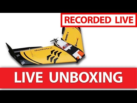 FlyingWings F3 Shadow FPV Racer LIVE Unboxing