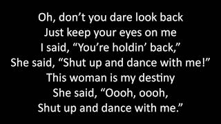 Timeflies - Shut Up and Dance Lyrics