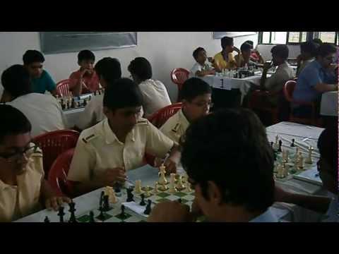 CBSE West Zone Chess Tournament at Indus World School Indore: 1-4 Oct 2012