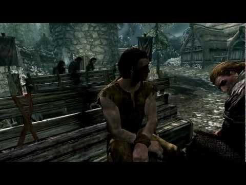Vidéo Skyrim - voix des nordiques (premier intervenant)