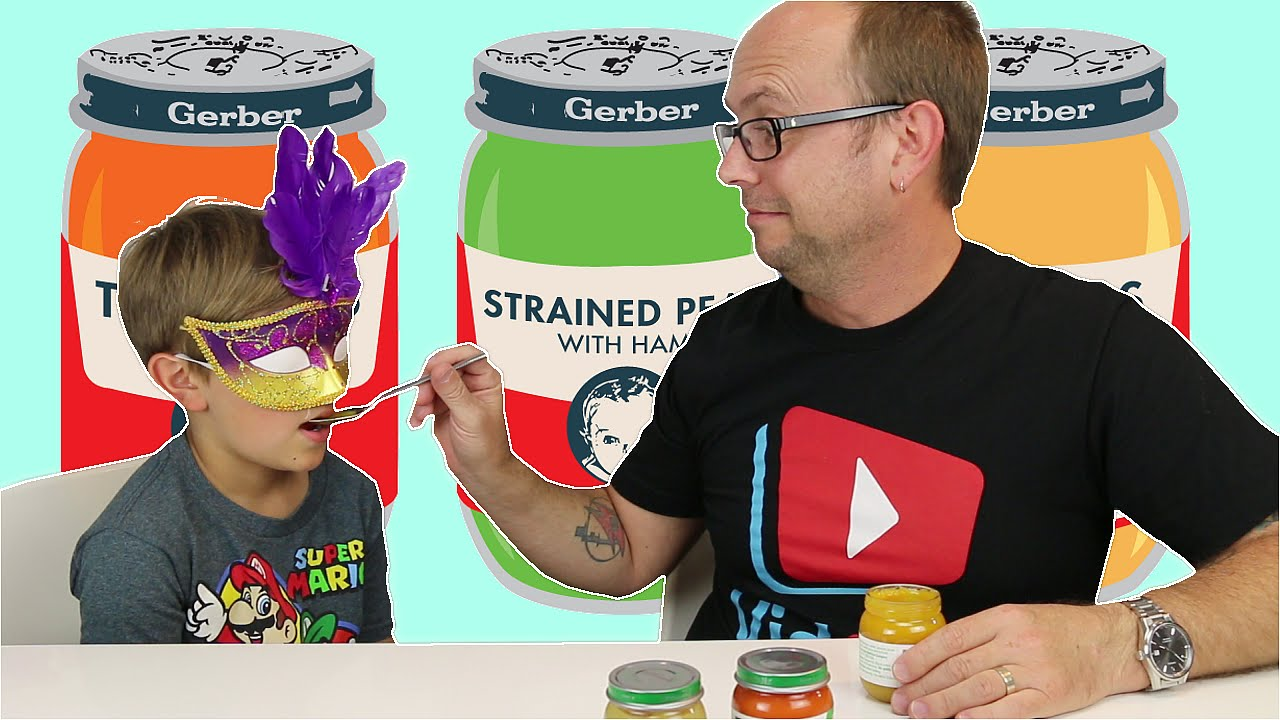 Baby Food Challenge Fun Family Eating Game
