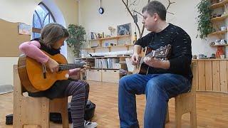 Юрий Коротков, уроки игры на гитаре (видеопрезентация)