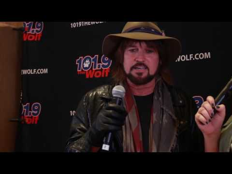 Billy Ray Cyrus interview in Nashville