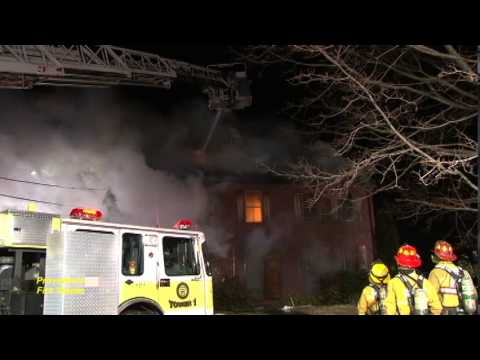 Stubborn fire takes hours to bring under control in Oxford, Ma