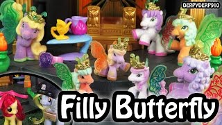 FILLY BUTTERFLY Ponies:  Derpy Hooves &  Apple Bloom MLP My Little Pony Toy Review Parody Spoof