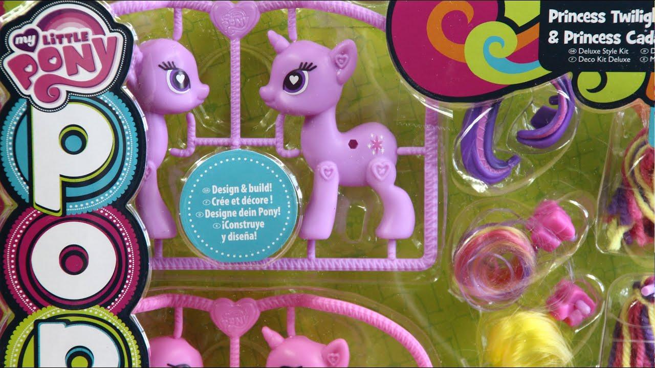 My Little Pony Pop Princess Style Kit Twilight Sparkle or Pinkie Pie Snap Girls