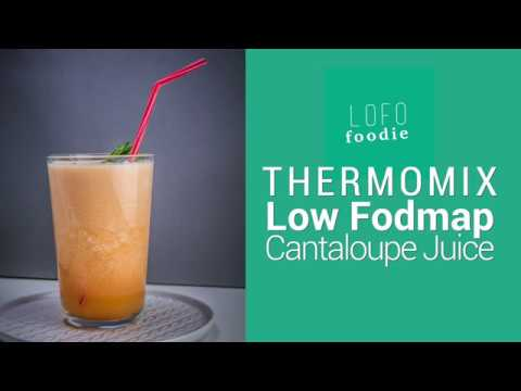 Low Fodmap Thermomix Cantaloupe Juice Youtube Fodmaps are a group of carbohydrates found in certain foods and cause stomach discomfort in some people. youtube
