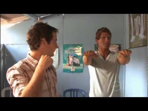 Bondi Rescue - Funny Harries getting his driving license in Bali