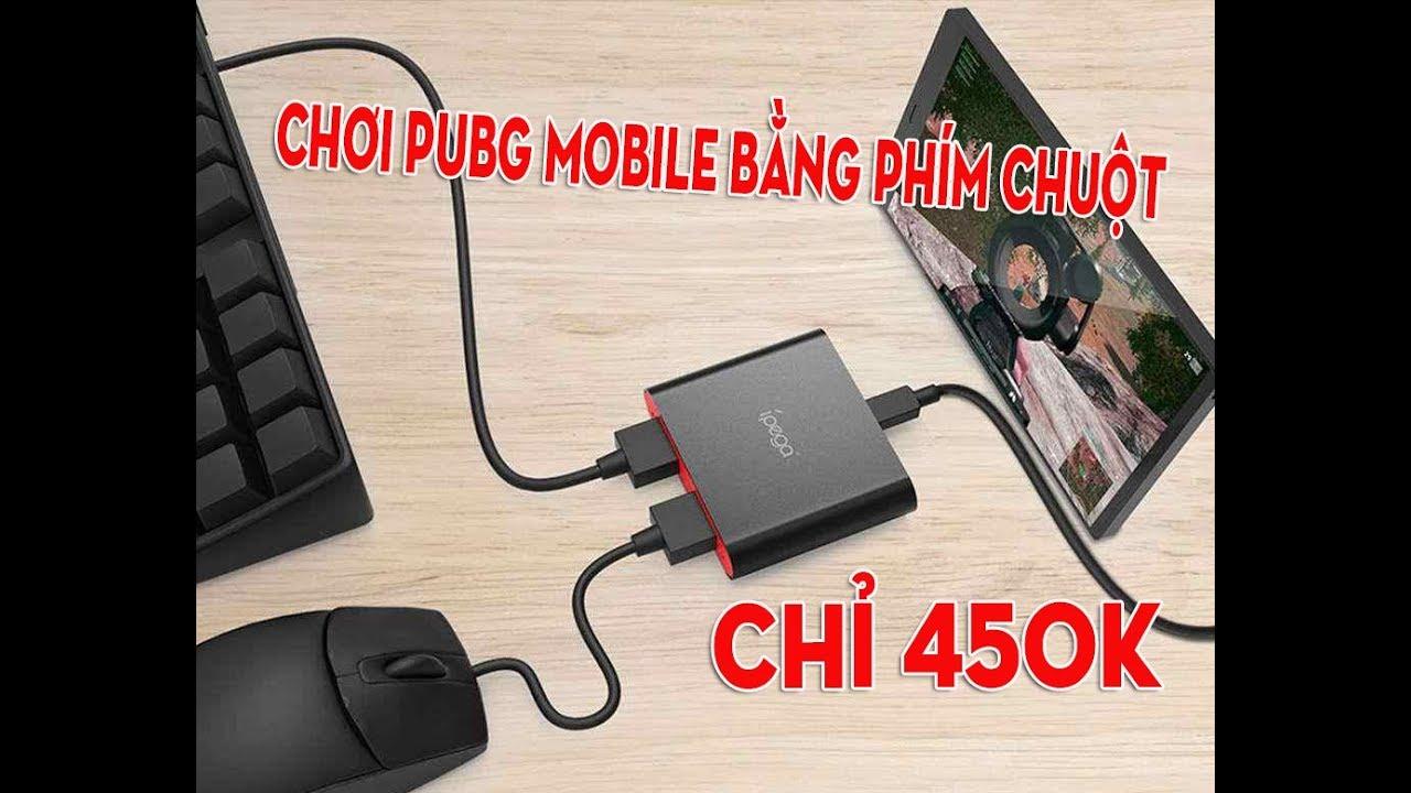Ipega 9116 – Bộ chuyển đổi dùng phím chuột bắn PUBG mobile rẻ nhất chỉ 459k. Hỗ trợ Android, IOS