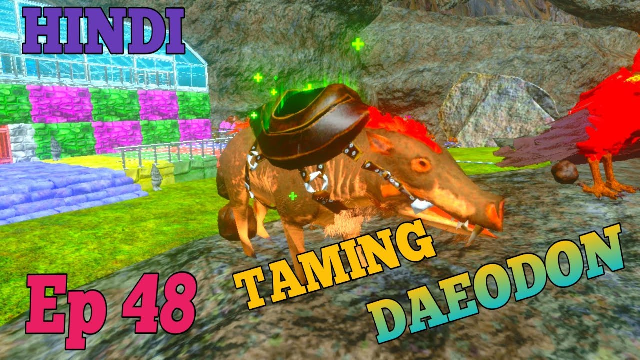 Ark Survival Evolved Mobile Taming Daeodon Single Player Ep 48 Hindi Youtube Survival evolved on ios & android. youtube