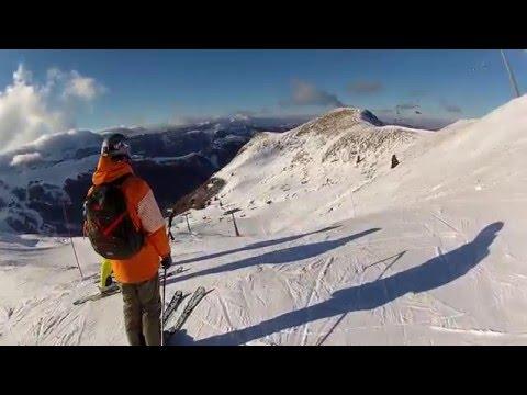 Abetone val di luce blacktrack snow sky - breve pista nera