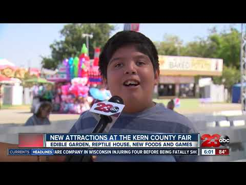 New Attractions at the 2018 Kern County Fair