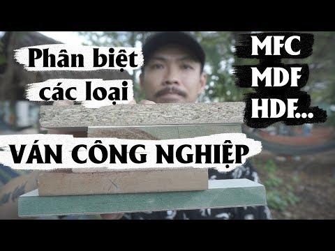 ✅ Cách phân biệt các loại gỗ ván công nghiệp trên thị trường MFC An Cường  MDF HDF Melamin .