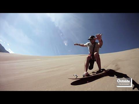 Sandboarding with Mark Pastori