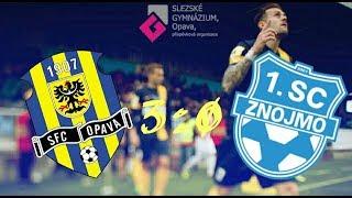 SFC Opava - 1.SC Znojmo (3:0)