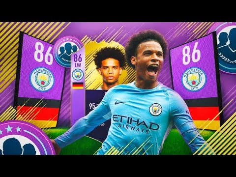 SANE PLAYER OF THE MONTH SQUAD BUILDER CHALLENGE!!   FIFA 18