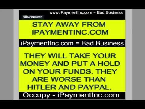 IPAYMENTINC.COM = BAD BUSINESS ★ STAY AWAY FROM iPAYMENTINC.COM - CROOKS!
