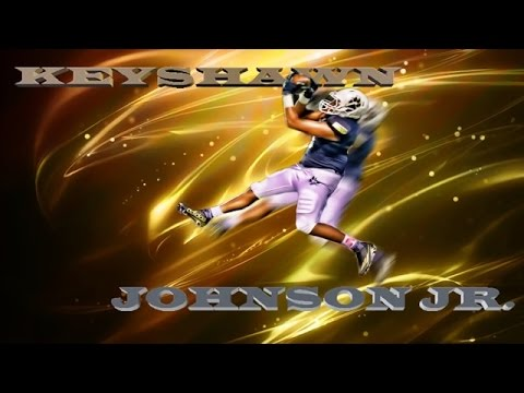 2017 WR Keyshawn Johnson Jr. 2016 season highlight REMIX