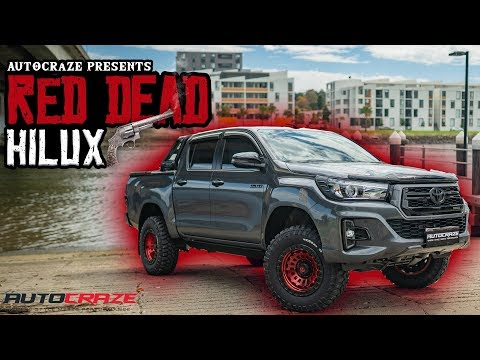 BRAND NEW 2019 RED DEAD HILUX // Toyota Hilux Fuel Zephyr Wheels, Tyres, Lift Kit & 4x4 Accessories