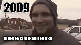 El extraño video encontrado en Estados Unidos