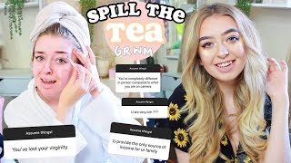 SPILL THE TEA GRWM! ANSWERING YOUR ASSUMPTIONS!