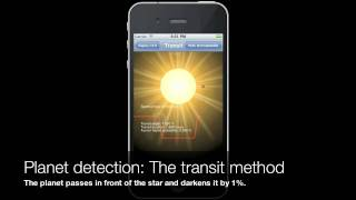 Exoplanet App for iPhone/iPad