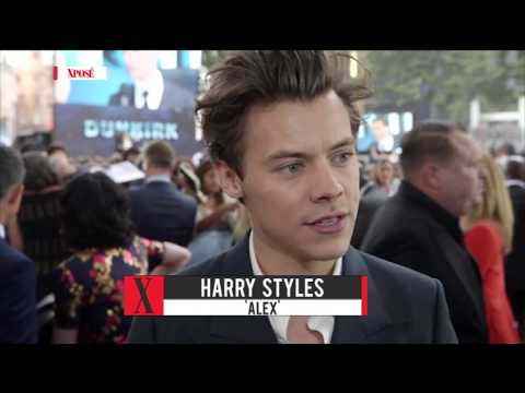 Harry Styles, Cillian Murphy & Barry Keoghan Interview at Dunkirk Premiere - Red Carpet