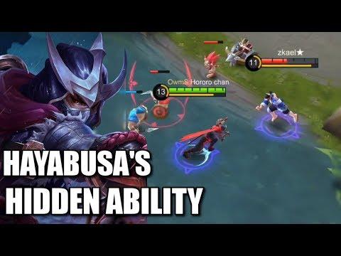 HAYABUSA'S SECRET ABILITY