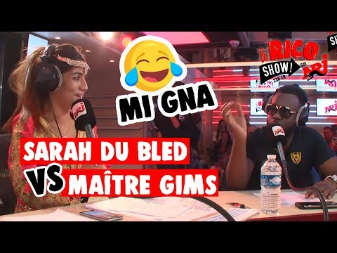 """Maitre Gims Feat Sarah Du Bled """"Mi Gna"""" Remix - Le Rico Show Sur NRJ"""