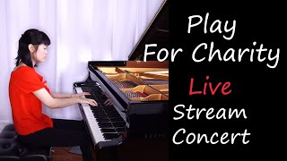 Play For Charity Live Stream Concert | Tiffany Poon видео