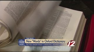 The Buzz: New words in the Oxford Dictionary