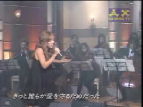 ayumi hamasaki - forgiveness live on AX music TV mp3