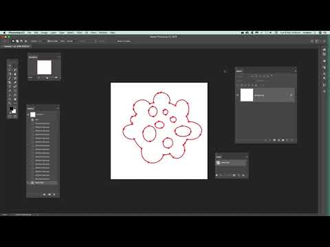 Convert Selection Into Path In Photoshop Tutorial
