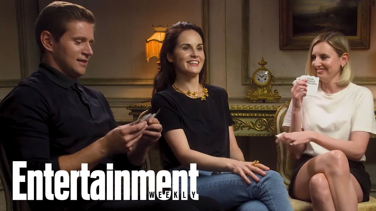 'Downton Abbey' Stars Michelle Dockery & More Play Cards Against Humanity