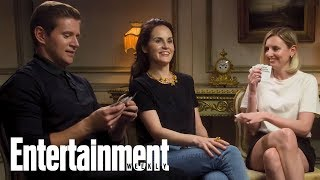 'Downton Abbey' Stars Michelle Dockery & More Play Cards Against Humanity | Entertainment Weekly