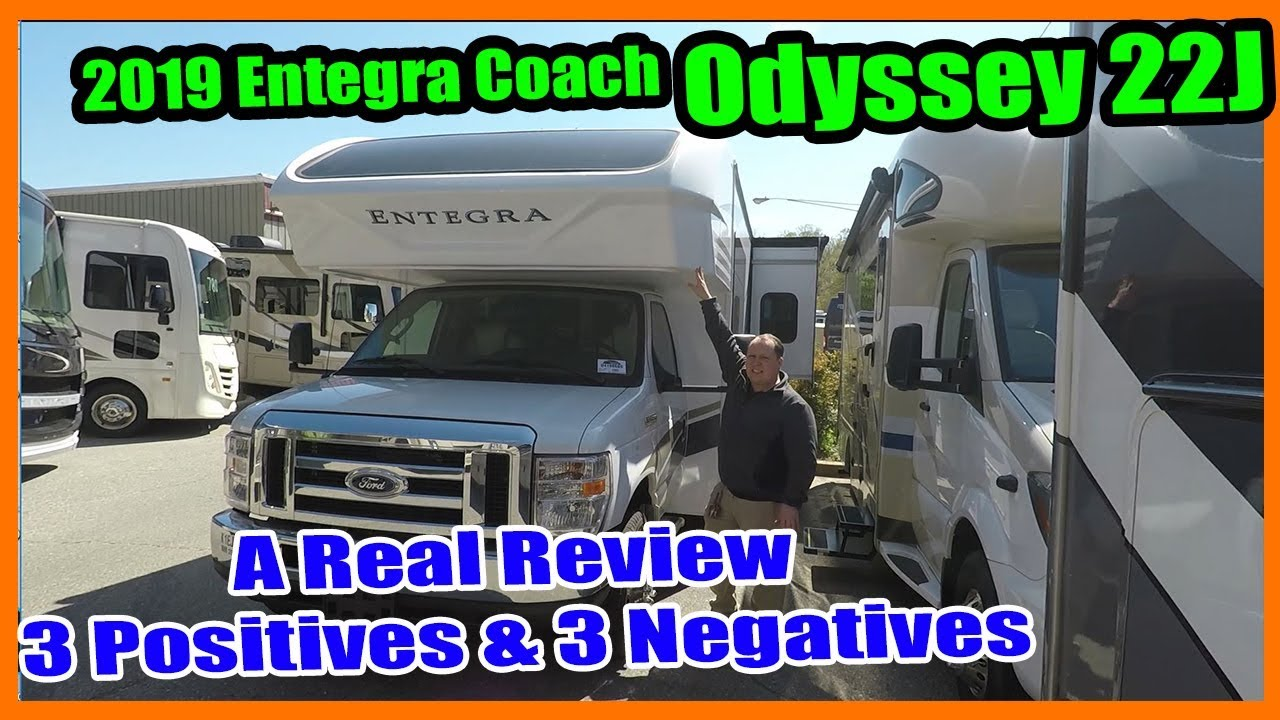 2019 Entegra Odyssey 22J - Small Class C with Amazing Exterior Construction