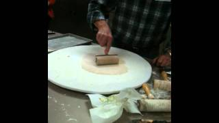 Making Norwegian Flatbread Video 2 By Lefsestore.com