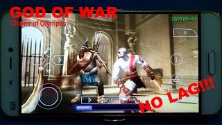 God Of War Chains of Olympus Playable on Android - Best Graphic and Sound Setting - NO LAG!!!