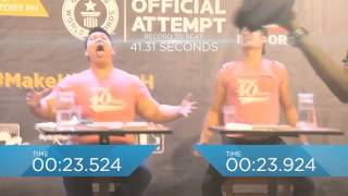 Fastest Time to Eat a 12