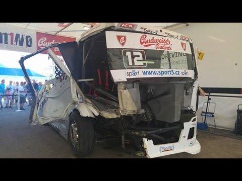 Czech Truck Racing Team - Accident Hungaroring 2016