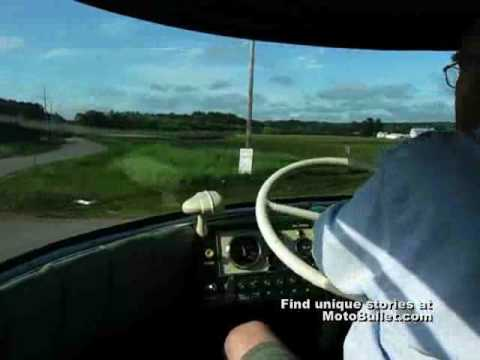 Gm 39 s futurliner going for a ride youtube for General motors annual report 2010