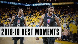 The Best Moments from the 2018-19 Season | LA Clippers